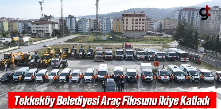 Tekkeköy Belediyesi Araç Filosunu Güçlendirdi