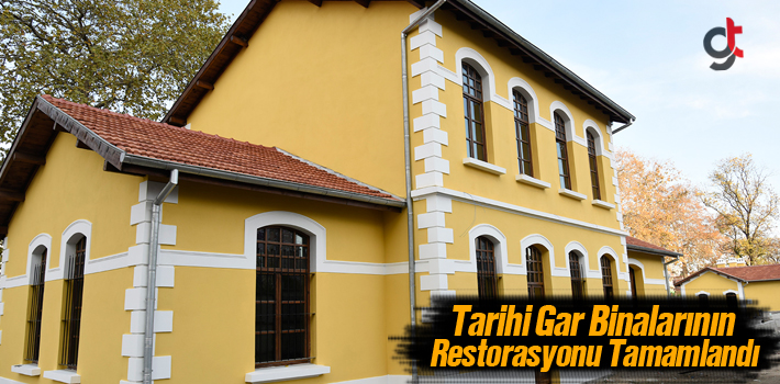 Tekkeköy'de Tarihi Gar Binalarının Restorasyonu Tamamlandı