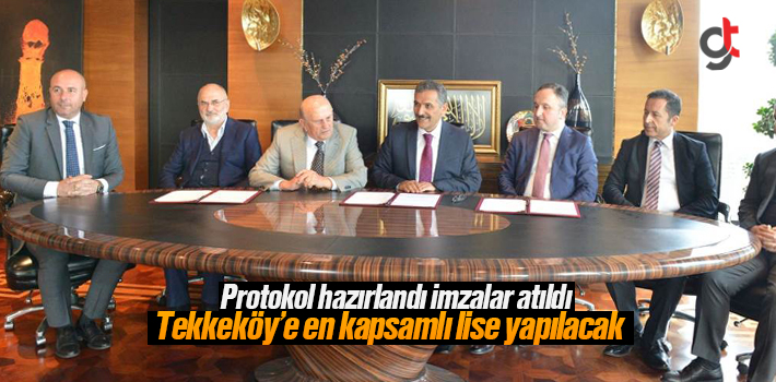 Tekkeköy'e Mesleki Teknik Anadolu Lisesi Yapılacak