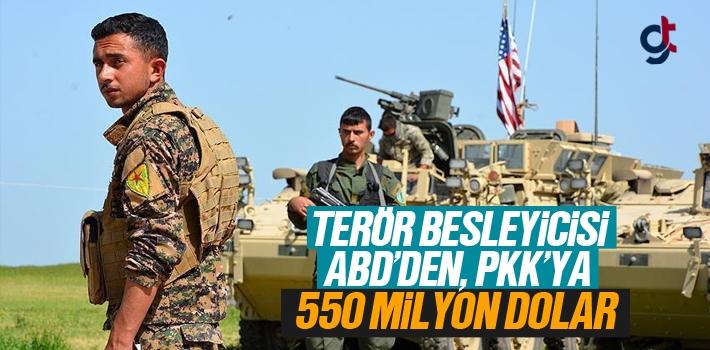 Terör Besleyecisi ABD'den PKK'ya 550 Milyon Dolar