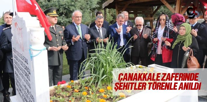 18 Mart Çanakkale Zaferinde Şehitler Törenle Anıldı