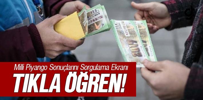 2019 Milli Piyango Yılbaşı Çekilişi Sorgulama...