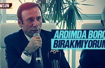 Osman Genç, 'Ardımda Borç Bırakmıyorum'