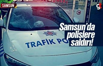 Samsun'da Polislere Saldırdılar