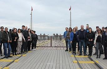 Seyahat acenteleri temsilcileri Samsun'u ziyaret etti
