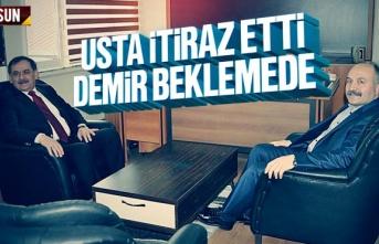 Erhan Usta İtiraz Etti, Mustafa Demir Mazbatayı...