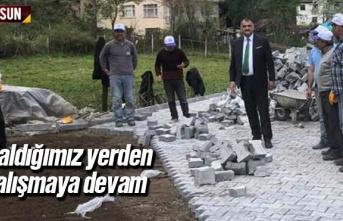 Halil Akgül 'Kaldığımız Yerden Çalışmaya...