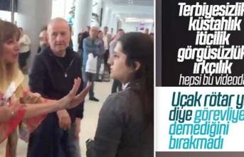 Havaalanındaki çirkin saldırı videosu