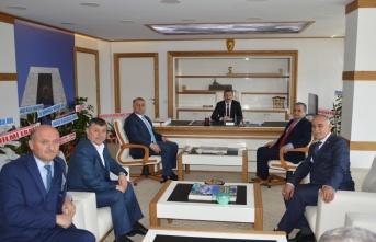 Havza Belediye Başkanı Özdemir'e ziyaretler