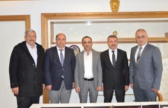 Havza Belediye Başkanı Özdemir'e ziyaretler sürüyor