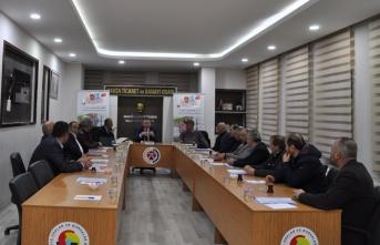 Havza TSO meslek komiteleri toplandı