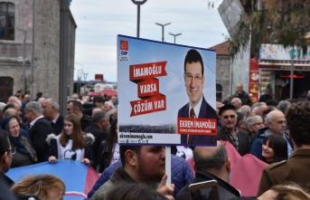 Trabzon'da İmamoğlu İçin Kutlama Yaptılar