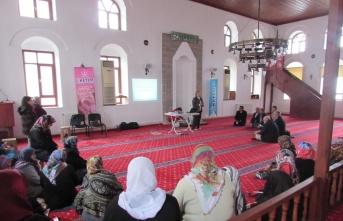 Kavak'ta din görevlilerine sağlık eğitimi