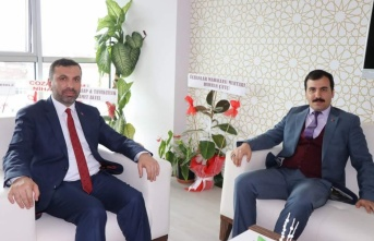 Kaymakam Koşal'dan Başkan Sarıcaoğlu'na ziyaret