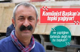 Komünist Başkan, Tunceli Belediyesi Yerine Dersim...
