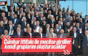 MHP'liler Mecliste Kendi Grubunu Oluşturacak