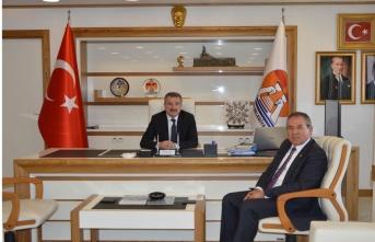 Milletvekili Zeybek'ten Özdemir'e ziyaret