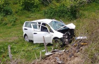 Ordu'da sağlık personeli kaza yaptı: 4 yaralı