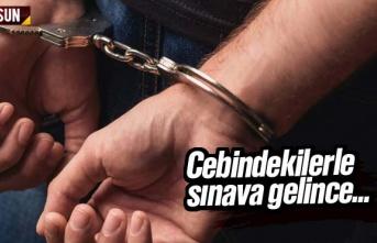 Polis Cebindekileri Görünce Yakaladı