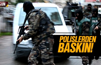 Samsun'da Polisler Baskın Yaptı 3 Kişi Tutuklandı