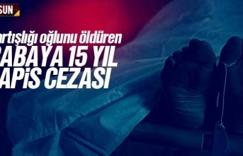 Samsun'da Tartıştığı Oğlunu Öldüren Babaya...