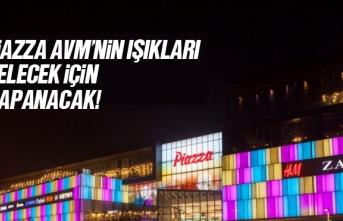 Samsun Piazza AVM'nin Işıkları Gelecek İçin...