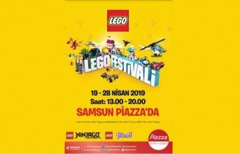 Samsun Piazza'da Lego Festivali başlıyor