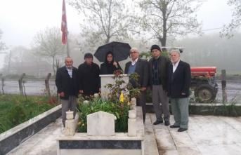 Şehit polis memuru Arslan kabri başında anıldı