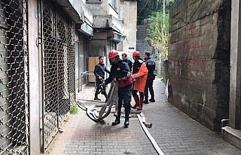 Zonguldak'ta ev yangını