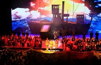 """Samsun'da """"1919 Bitmeyen Yolculuk"""" draması gösterimi"""