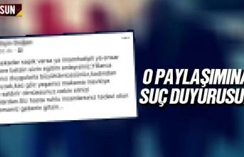 Atakum Belediyesi Sekreterine Suç Duyurusu