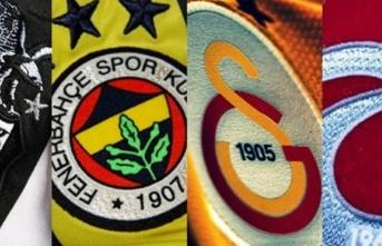 Beşiktaş, Fenerbahçe, Galatasaray ve Trabzonspor...