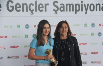 Samsun'da Golf şampiyonları belli oldu