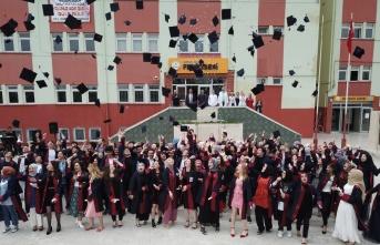 Havza Fen Lisesinde ilk mezuniyet heyecanı