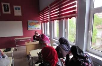 Kavak'ta Kur'an-ı Kerim'i tecvitli okuma kursu açıldı