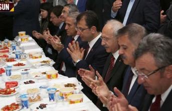 Kılıçdaroğlu, Samsun'da vatandaşlarla iftar yaptı