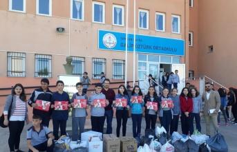LÖSEV Bafra Şubesinden yardım kampanyası