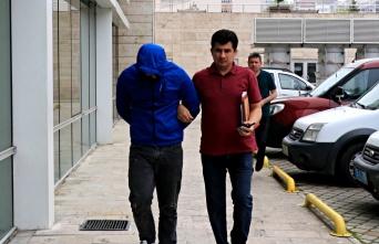 Atakum'da hırsızlık yapan şahıs tutuklandı