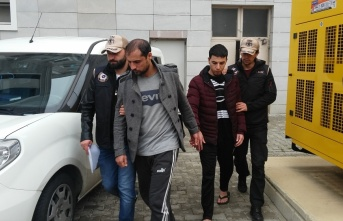 Samsun'daki DEAŞ operasyonunda 10 şüpheli...
