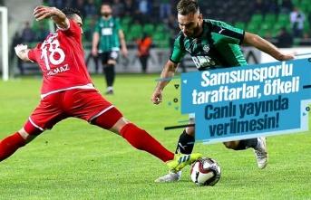 Samsunspor – Sakaryaspor Maçı Canlı Yayın Verilmesin!