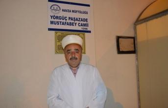 Tarihi camide ramazan heyecanı