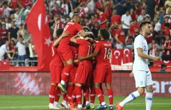 Türkiye Yunanistan maçı 2-1 bitti