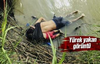 23 aylık mülteci kız ve baba sınırı geçerken can verdi