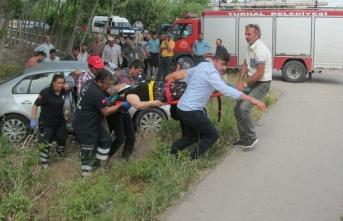 Araçlar çarpıştı, 7 kişi yaralandı