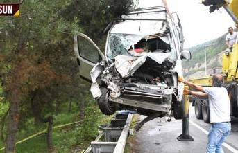 Atakum'da feci kaza 1 kişi öldü