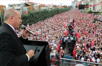 Cumhurbaşkanı Erdoğan; 'Bunlardan korkmuyoruz'