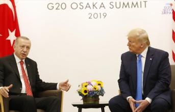 G20 zirvesinde Erdoğan ile Trump görüşmesine ilişkin açıklama