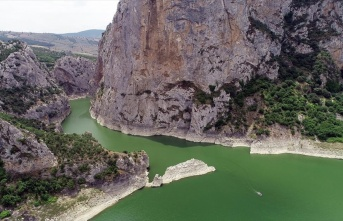 Doğa harikası Samsun Kaplancık Kanyonu ziyaretçilerini...