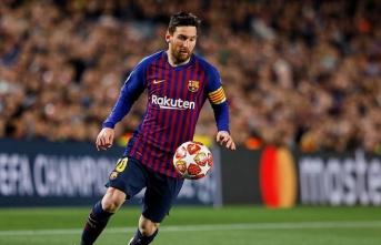 Dünyanın en çok kazanan sporcusu Messi oldu
