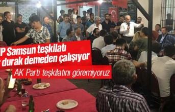 MHP Samsun teşkilatı, İstanbul seçimleri için dur durak demiyor
